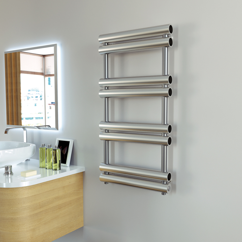 Aeon Tubo 990 x 500 Brushed Stainless Steel