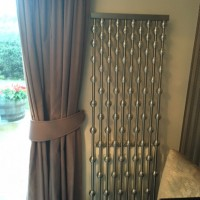 Aeon Abacus radiator with silver globes
