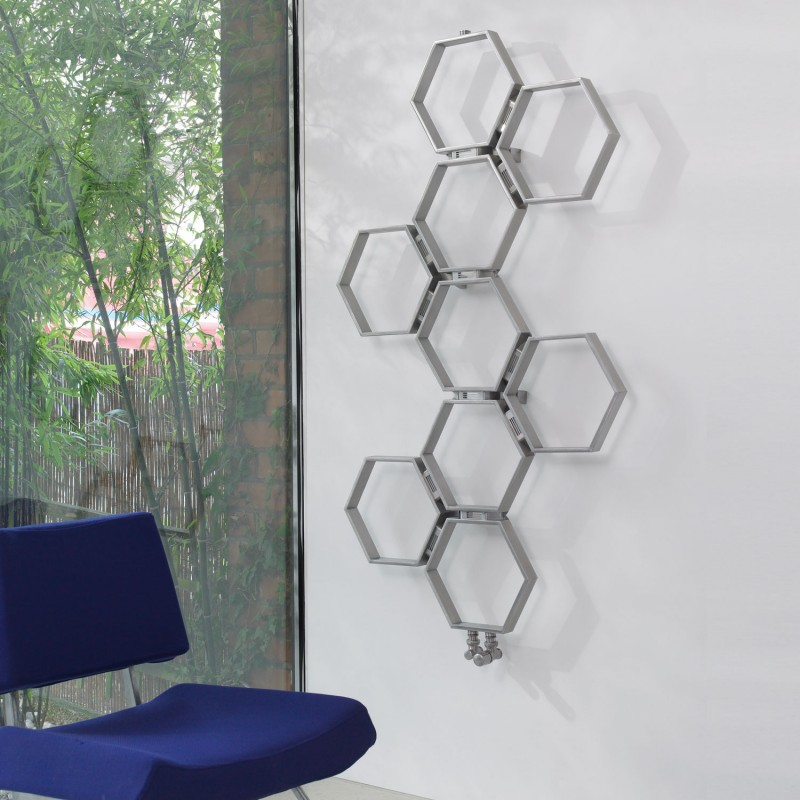 Aeon Honeycomb 1120 x 785 Brushed Stainless Steel
