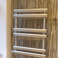 Aeon Tubo towel radiator converted to all electric