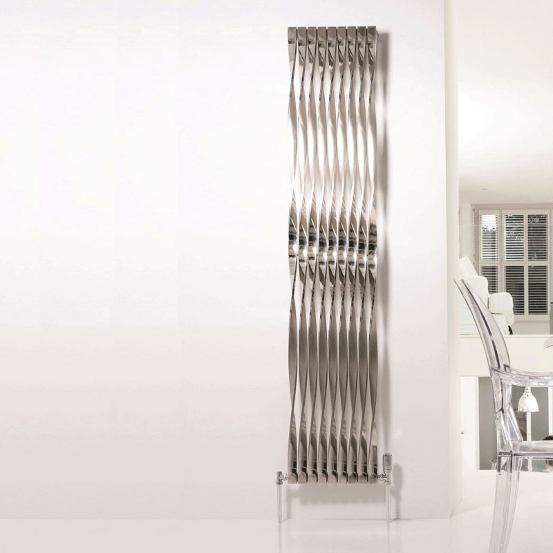 Aeon Twister Polished 2000 x 400 - 720 degree twist. Polished Stainless Steel